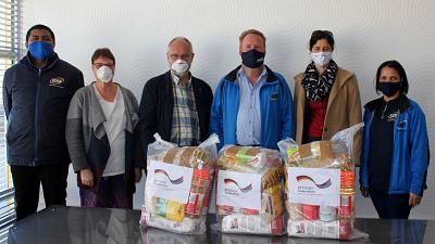 Coronavirus - Namibia: German Embassy supports food distribution