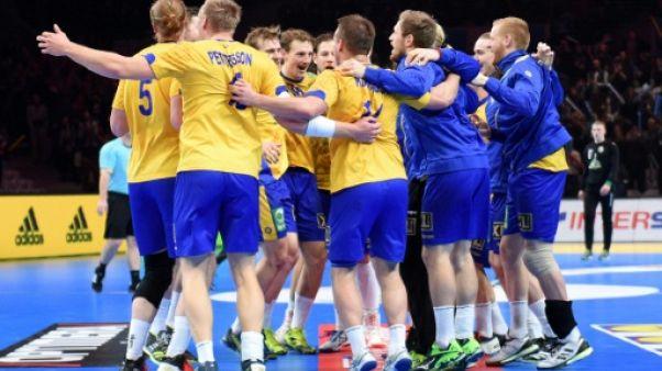 Hand: la Suède se balade et fonce vers la France en quarts du Mondial