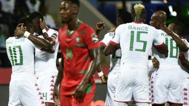 CAN-2017: à l'expérience, le Burkina Faso tient son quart