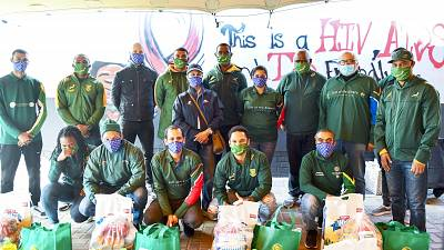 Bok heroes challenge schools to join #StrongerTogether for R32-12 campaign