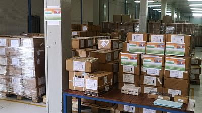 Coronavirus: Eswatini Recieves medical supplies from the Republic of India