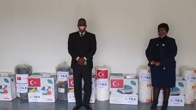 Coronavirus - Eswatini: Turkish Cooperation and Coordination Agency (TİKA) supports the Kingdom of Eswatini's fight against COVID19