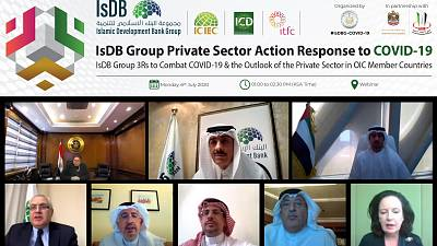 Islamic Development Bank Group to respond to COVID-19 with USD 2.3 Billion package and to launch three supportive and robust initiatives in partnership with UAE Ministry of Economy and Annual Investment Meeting (AIM)