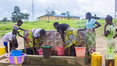 Coronavirus - Sierra Leone: International Organization for Migration (IOM) Water Facilities Help Resettled Communities Fight COVID-19 in Sierra Leone