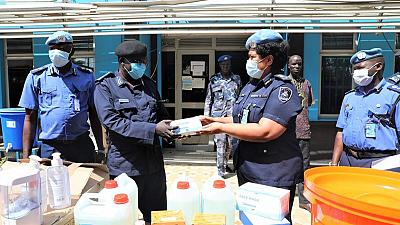 Coronavirus - South Sudan: UNMISS donates COVID-19 personal protection equipment to South Sudanese police
