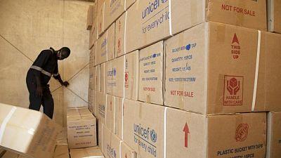 Coronavirus - South Sudan: UNICEF delivers 5 million USD worth of supplies for COVID-19 response in South Sudan