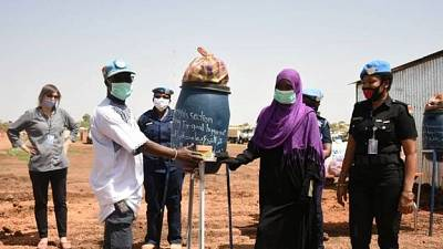Coronavirus - Sudan: Distribution of hygiene materials and dignity kits to internally displaced women, girls and other vulnerable populations