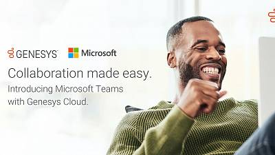 New Genesys Cloud Integration with Microsoft Teams Drives Productivity and Collaboration
