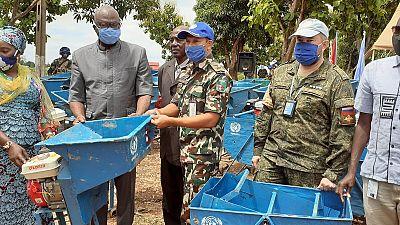 Coronavirus - République Centrafricaine : L'appui multiforme de la MINUSCA à la préfecture de la Ouaka