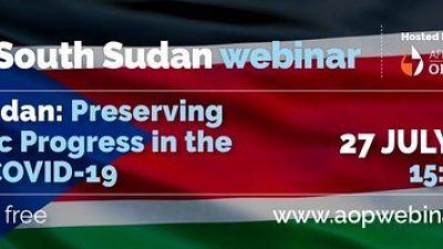 South Sudan: Preserving Economic Progress in the Face of COVID-19