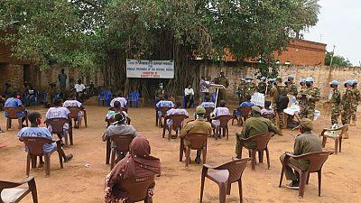 Coronavirus - South Sudan: Female prisoners in Wau receive medicines, hygiene kits thanks to UNMISS peacekeepers from Bangladesh