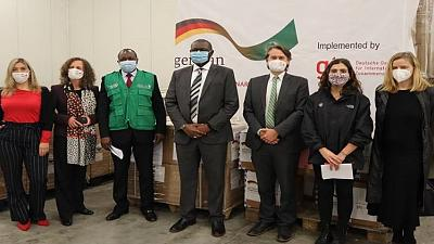 Coronavirus - Africa CDC Receives COVID-19 test kits donation from Government of Germany