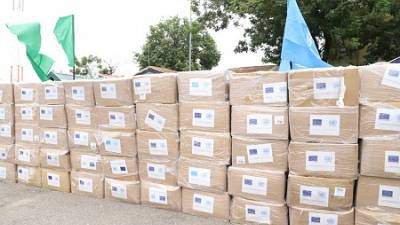 Coronavirus - Nigeria: Honourable Minister of Health, Dr. Osagie Ehanire Joins National Coordinator, PTF on COVID-19, Others to Receive 2nd Batch Medical Supplies Purchased with UN Basket Fund for COVID-19 Response