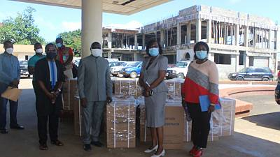 Coronavirus - Liberia: Ministry of Health (MOH) receives Oxygen Concentrators from WHO