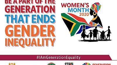 Coronavirus - South Africa: Happy Women's Day 2020