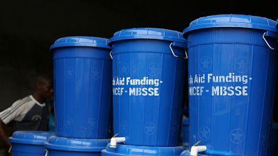 Coronavirus - Government of Sierra Leone, Irish Aid and UNICEF provide 2307 handwashing stations to primary schools