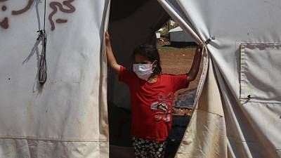Coronavirus - UNICEF campaign on wearing masks as COVID-19 cases soar across the Middle East and North Africa