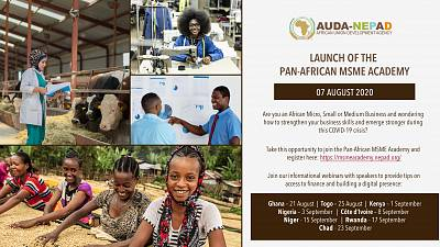AUDA-NEPA launches the MSME Academy for all Africa's Micro Small and Medium Enterprises