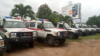 Coronavirus - Liberia: Ministry of Health (MOH) receives 10 New Ambulances from World Bank