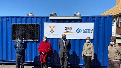 Déploiement de piles à combustible hydrogène dans un hôpital militaire en Afrique du Sud en réponse au Covid-19