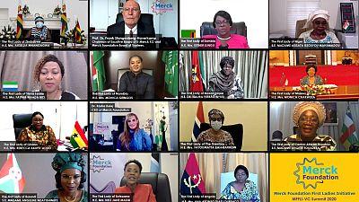 Premier sommet en ligne de la Fondation Merck avec les Premières Dames Africaines pour renforcer les capacités de soins de santé et la réponse conjointe au COVID 19