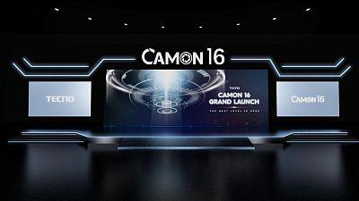 TECNO Mobile présente le pionnier du téléphone-appareil photo CAMON 16 Premier à son lancement mondial GRAND