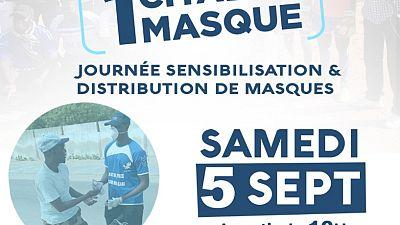 Coronavirus - Sénégal : Dans le cadre de la riposte contre la COVID19, l'ASC Be Free de la Commune Bargny a organisé ce samedi 5 septembre 2020 une journée de sensibilisation et de distribution de masques et de kits