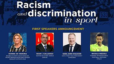 "International Sport Press Association (AIPS) Conference ""Racism and Discrimination in Sport"": First Speakers Announcement"
