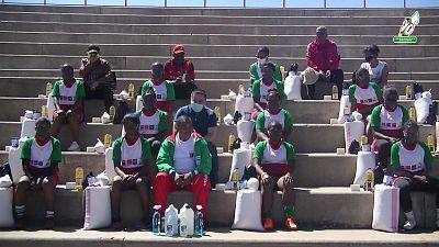 Le retour des Ladies Makis 7s de Madagascar aux entraînements collectifs