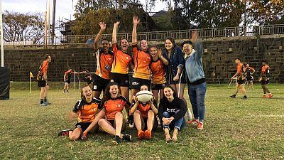 Le rugby féminin continue sa percée sur l'Ile Maurice : Une nouvelle équipe à l'Ouest