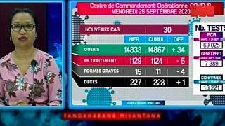 Coronavirus - Madagascar : Statistiques du 25 Septembre 2020