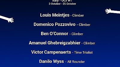 Giro d'Italia: Lineup