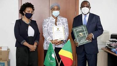 The Republic of Congo signed the Treaty for the establishment of the African Medicines Agency (AMA)