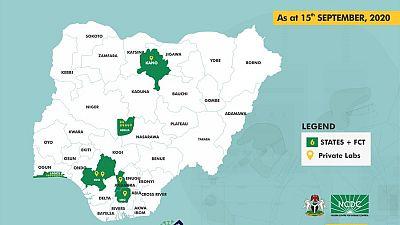 Coronavirus - Nigeria: Addition of Laboratories for COVID-19 Testing