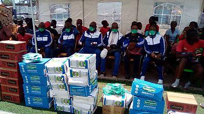 Communiqué de presse Fédération Congolaise de Rugby (FECORUGBY) : La distribution du don Covid de Rugby Afrique a lancé officiellement la reprise des activités en République Démocratique du Congo (RDC)