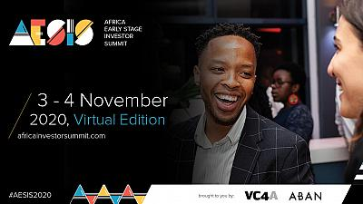 VC4A and ABAN announce 7th and virtual edition of its Africa Early Stage Investor Summit (#AESIS2020)