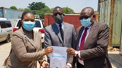 Coronavirus - Zambia: WHO Donates test kits to the Ministry of Health to help strengthen the national response towards the COVID-19 pandemic