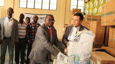 Coronavirus - Burundi : Don d'équipement médical COVID-19 du gouvernement chinois