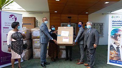 Coronavirus - Gabon : Don d'équipement médical pour la réponse au COVID-19