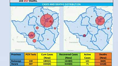 Coronavirus - Zimbabwe: COVID-19 Update (15 November 2020)