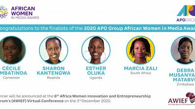 APO Group Announces finalists for the 2020 APO Group African Women in Media Award