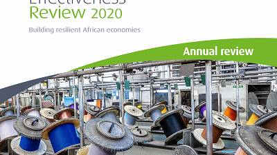 African Development Bank's investments are transforming the continent, unlocking economic potential, and spurring development - 2020 Annual Development Effectiveness Review (ADER) report