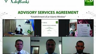 Signing of the Advisory Services Agreement between the Islamic Corporation for the Development of the Private Sector (ICD) and Xalq Bank, Uzbekistan