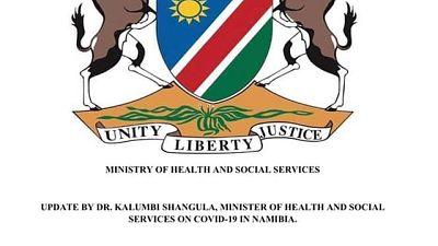 Coronavirus - Namibia: COVID-19 Update 5 December 2020