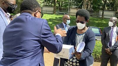 Coronavirus - Uganda: Donation of Equipment from PSFU with support from Mastercard Foundation to boost the COVID-19 response