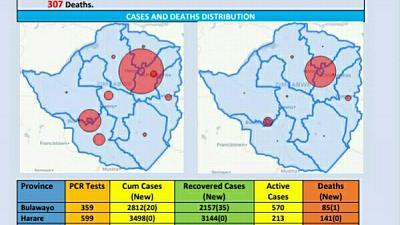 Coronavirus - Zimbabwe: COVID-19 Update (12th December 2020)