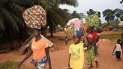Le HCR est préoccupé par le déplacement de milliers de Centrafricains après les élections