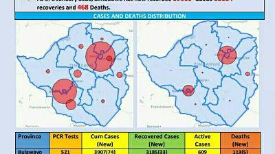 Coronavirus - Zimbabwe: COVID-19 Update (8th January 2021)