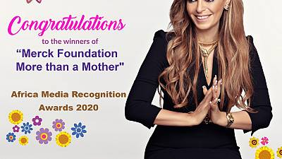 "Merck Foundation CEO and African First Ladies announce the winners of their  ""Merck Foundation More Than a Mother"" Africa Media Recognition Awards 2020 to break Infertility Stigma"