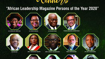 WHO DG, Tedros Ghebreyesus, Ghana's President, Akufo-Addo, Mo Ibrahim, Graca Machel, Others, Emerge Winners in the African Leadership Magazine (ALM) Persons of the Year 2020 Awards